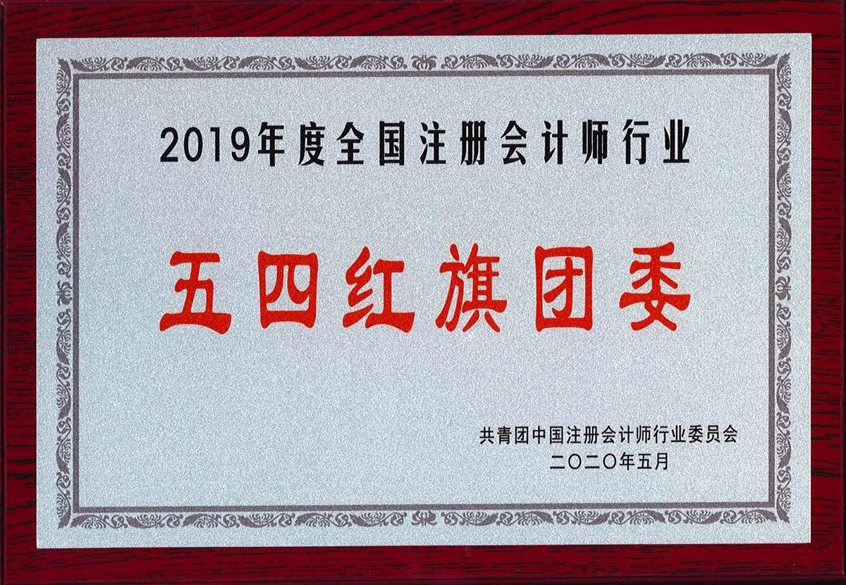 """2019年度全国注册会计师行业""""五四红旗团委"""""""